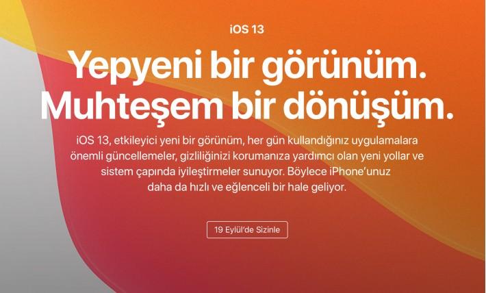 iOS 13 Ne Zaman Çıkacak iOS 13 Özellikleri Neler?