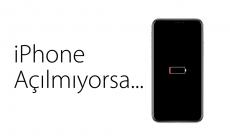 iPhone Açılmıyor veya Dondu ise Çözümü Burada