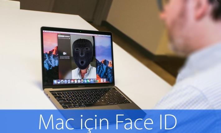 Apple'ın yeni patent başvurusu, Mac'lerde Face ID'ye ve Magic Keyboard'ta Touch Bar'a işaret ediyor