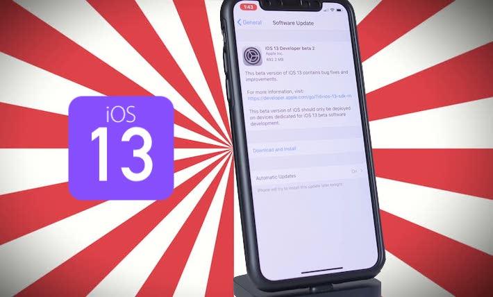iOS 13 Beta 2 Yayınlandı. Değişiklikler, Yenilikler ve Yeni Özellikler Neler?