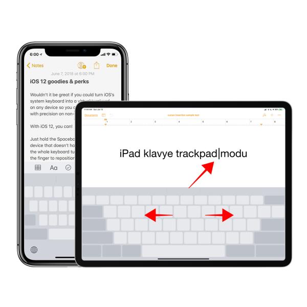 iPhone ve iPad Klavyede Satır Atlama Nasıl Yapılır?