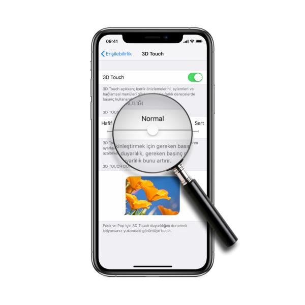 iPhone'da 3D Touch Dokunmatik Hassasiyeti Ayarları Nasıl Yapılır?