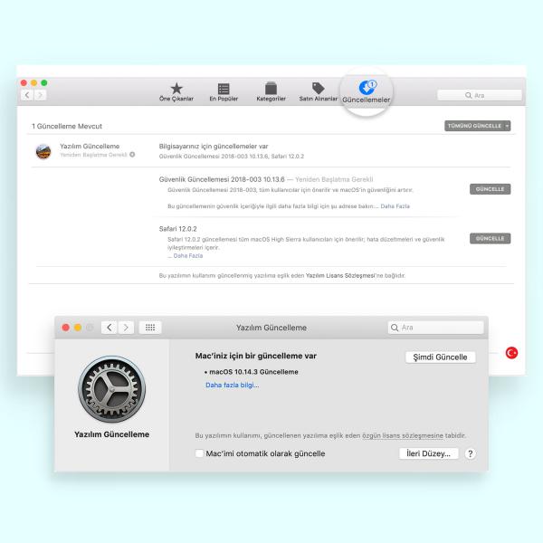 MacBook Güncelleme Nasıl Yapılır?