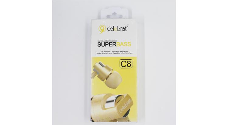 Celebrat Gold C8 Super Bass Kablolu Kulaklık