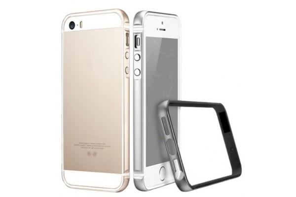 iPhone 5/5S/SE Bumper Metal Çerçeve Kılıf