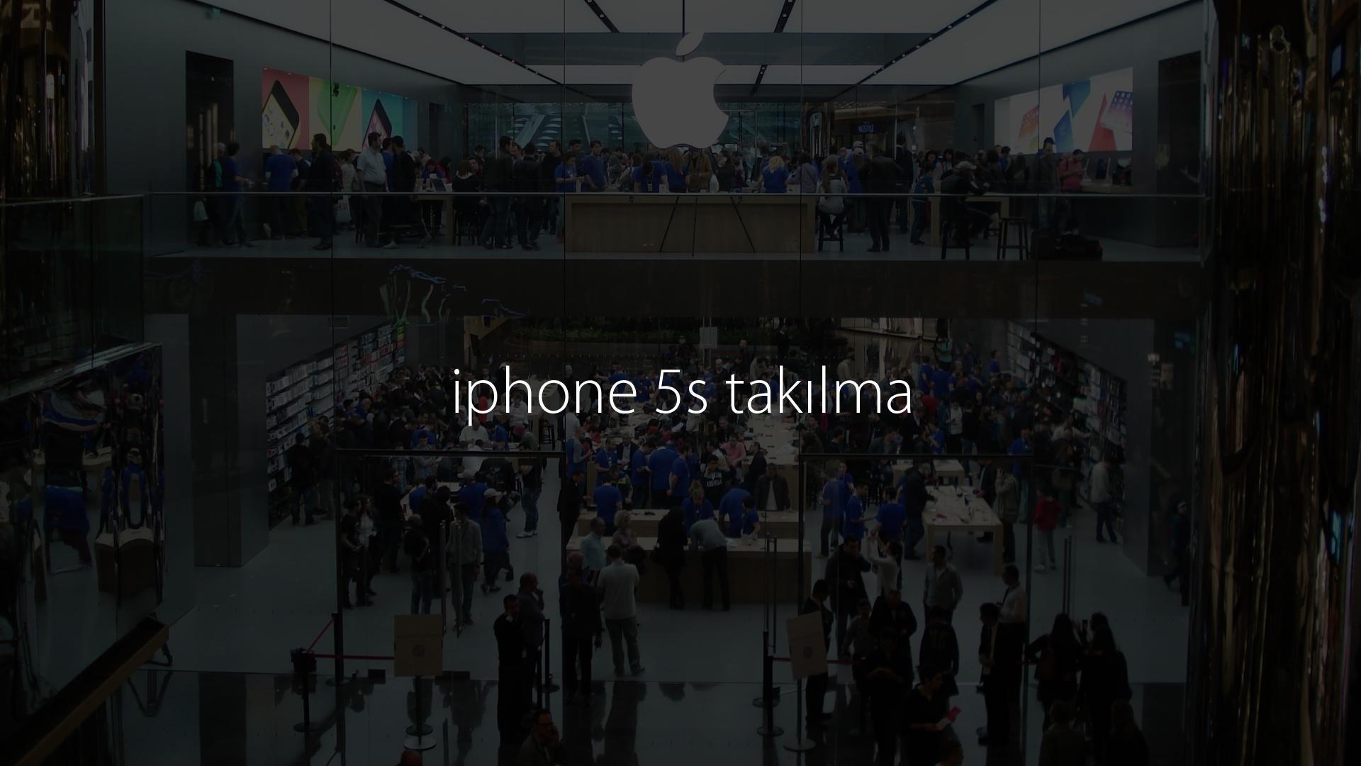 iphone 5s takılma